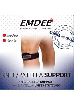 Emdee patellabrace Black